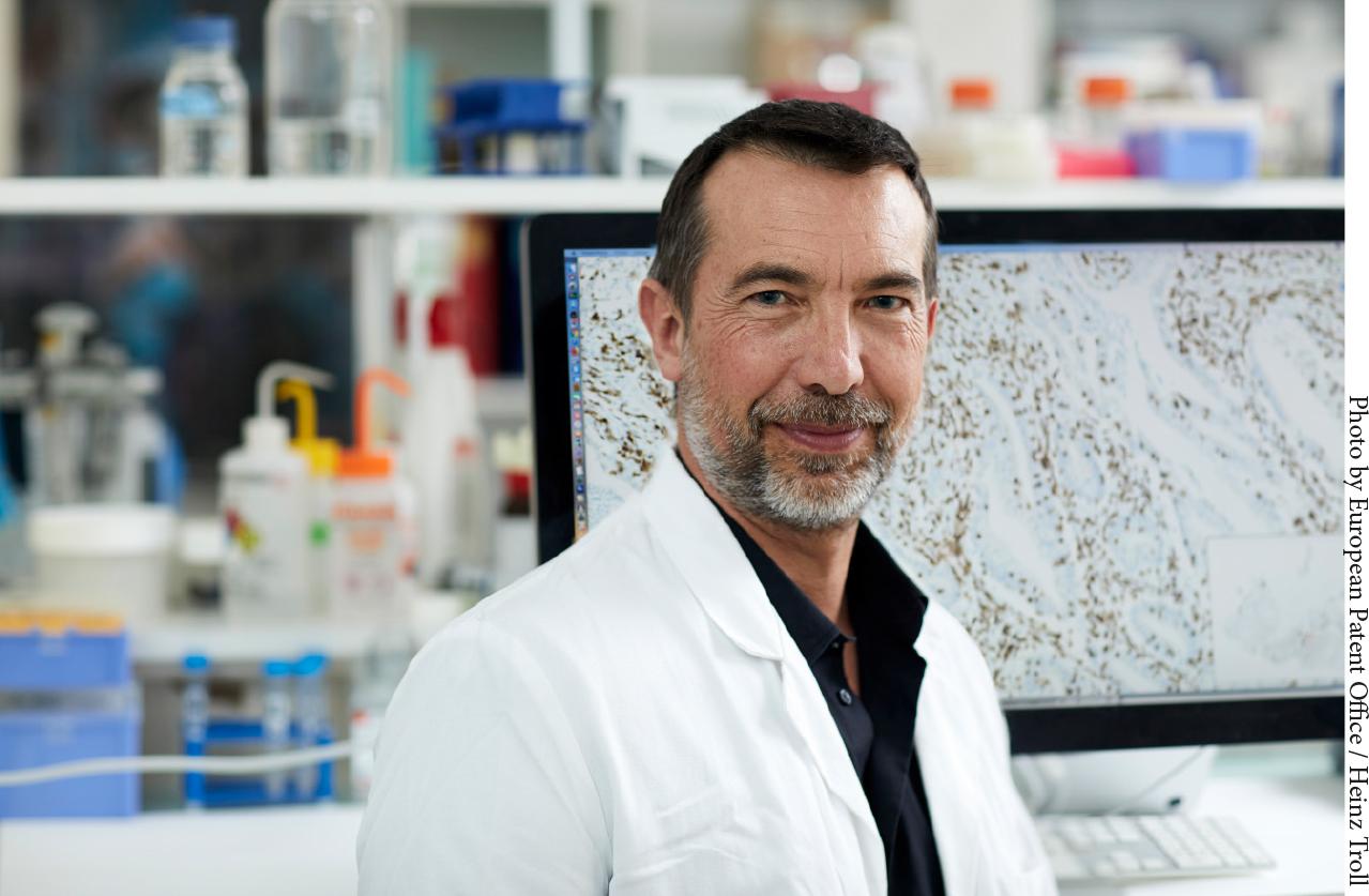 Inserm Transfert se félicite du Prix de l'inventeur européen décerné à Jérôme Galon par l'Office Européen des Brevets