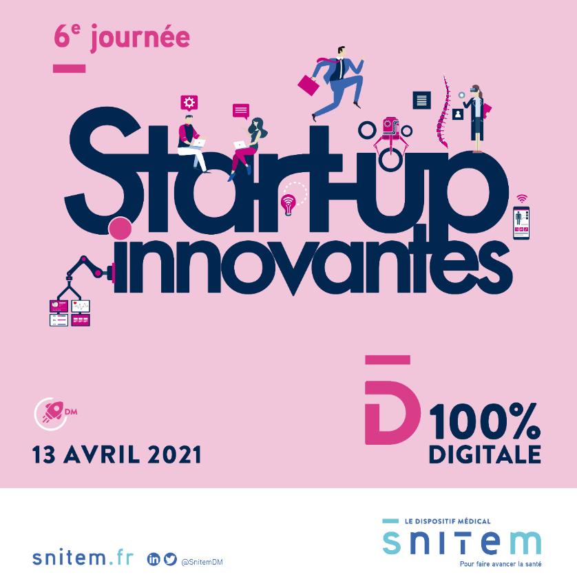 Inserm Transfert partenaire de la 6e édition de la Journée start-up innovantes