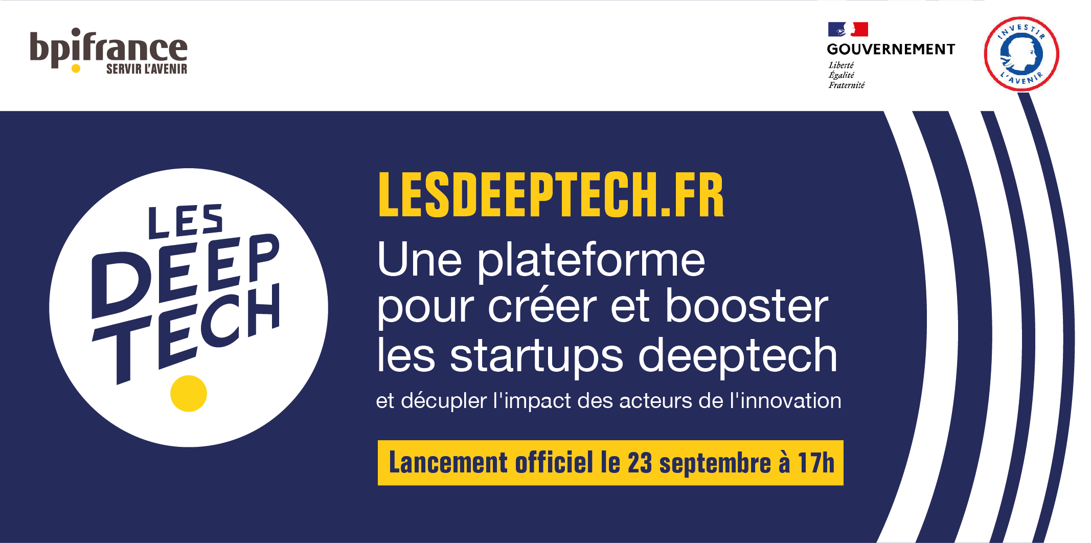 Lancement plateforme LesDeeptech.fr