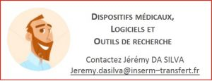 Contact Dispositifs médicaux, Logiciels et Outils de recherche